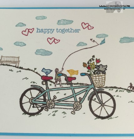 Pedal Pusher Happy Home 6 - Stamps-N-Lingers