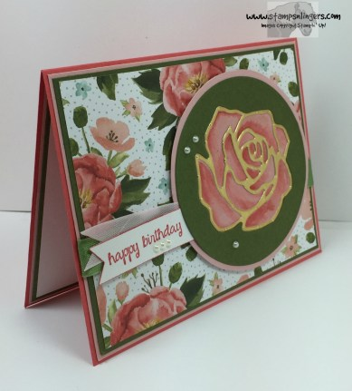 Rose Garden Happy Birthday 3 - Stamps-N-Lingers