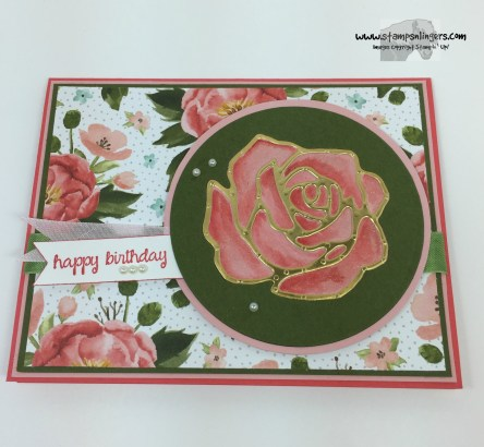 Rose Garden Happy Birthday 4 - Stamps-N-Lingers