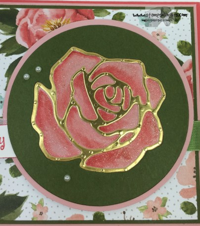 Rose Garden Happy Birthday 9 - Stamps-N-Lingers