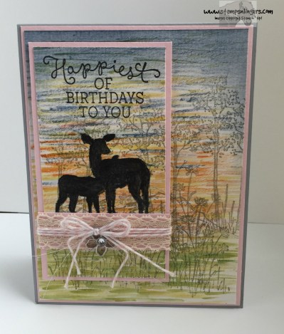 Watercolor In the Meadow 1 - Stamps-N-Lingers