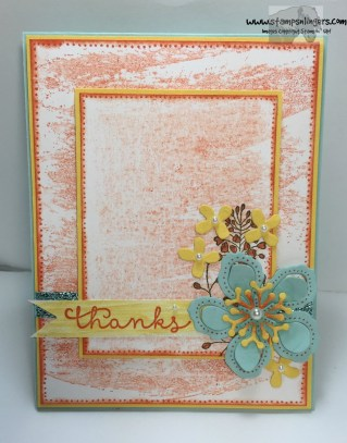 Wildflower Cottage Thanks 1 - Stamps-N-Lingers