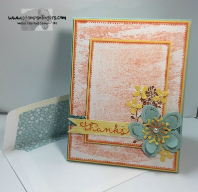 Wildflower Cottage Thanks 5 - Stamps-N-Lingers