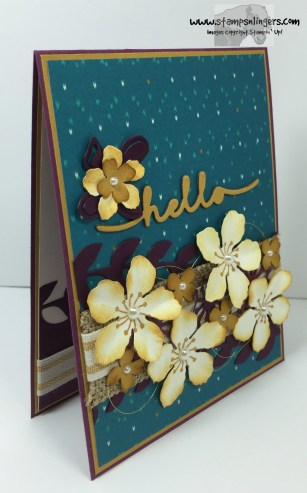 Botanical Builder Hello 3 - Stamps-N-Lingers