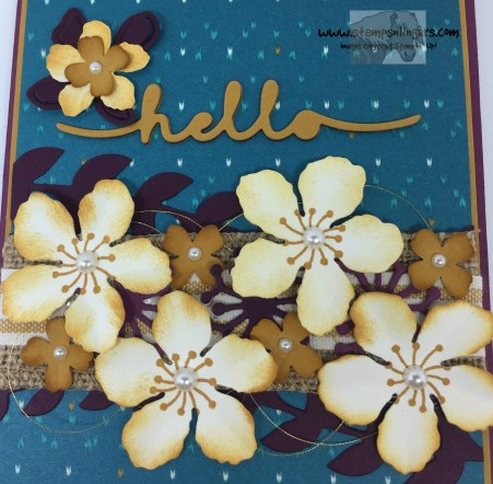 Botanical Builder Hello 5 - Stamps-N-Lingers