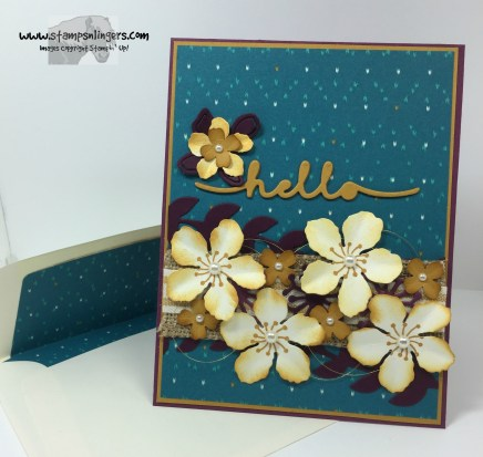 Botanical Builder Hello 9 - Stamps-N-Lingers