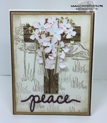 Botanical Easter Cross 1 - Stamps-N-Lingers