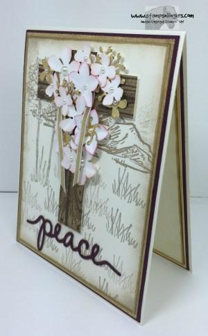 Botanical Easter Cross 2 - Stamps-N-Lingers