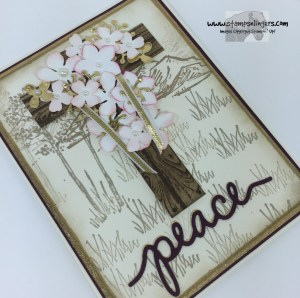 Botanical Easter Cross 4 - Stamps-N-Lingers