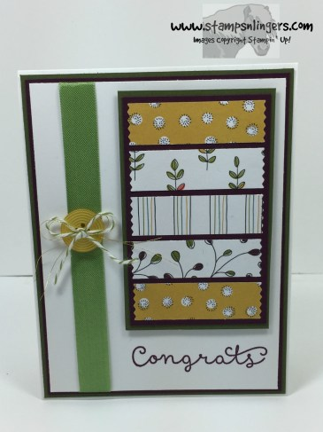 Cottage Greetings Congrats 1 - Stamps-N-Lingers