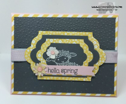 Easter Lamb Hello Spring 1 - Stamps-N-Lingers