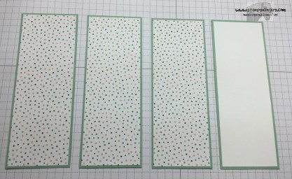Four Panel Fun Fold 6 - Stamps-N-Lingers