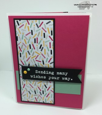 Party With Cake Birthday Wishes 2 - Stamps-N-Lingers