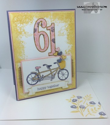 Pedal Pusher Years Anniversary 2 - Stamps-N-Lingers
