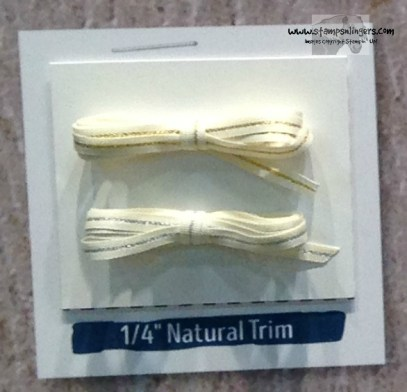 14 Natural Trim - Stamps-N-Lingers