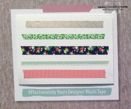Affectionately Yours Designer Washi - Stamps-N-Lingers