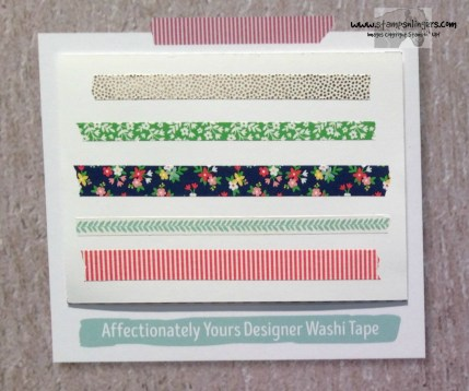 Affectionately Yours Designer Washi - Stamps-N-Lingers