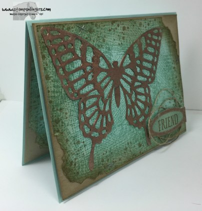 Awesomely Artistic Copper Butterfly 1 - Stamps-N-Lingers