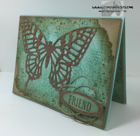 Awesomely Artistic Copper Butterfly 3 - Stamps-N-Lingers