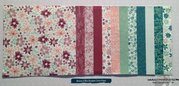 Blooms & Bliss DSP - Stamps-N-Lingers