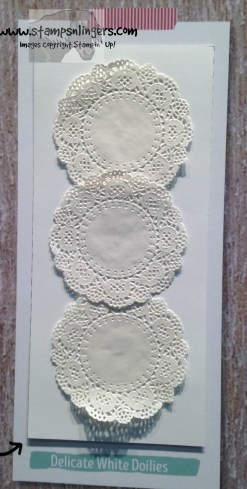 Delicate White Doilies - Stamps-N-Lingers