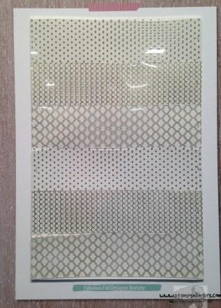 Fabulous Foil Designer Acetate - Stamps-N-Lingers