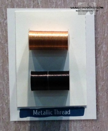 Metallic Thread - Stamps-N-Lingers