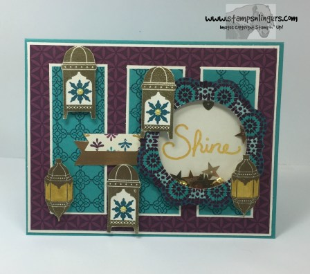 Moroccan Nights Shaker Congrats 1 - Stamps-N-Lingers