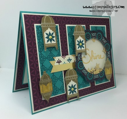 Moroccan Nights Shaker Congrats 2 - Stamps-N-Lingers