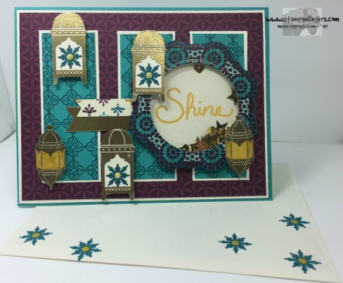 Moroccan Nights Shaker Congrats 8 - Stamps-N-Lingers