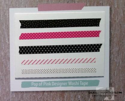 Pop of Pink Designer Washi - Stamps-N-Lingers