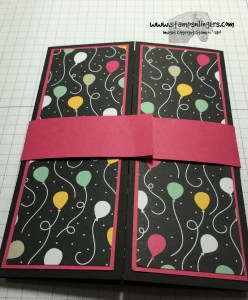Shutter Fold Tutorial 15 - Stamps-N-Lingers