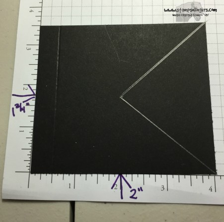 Shutter Fold Tutorial 6 - Stamps-N-Lingers
