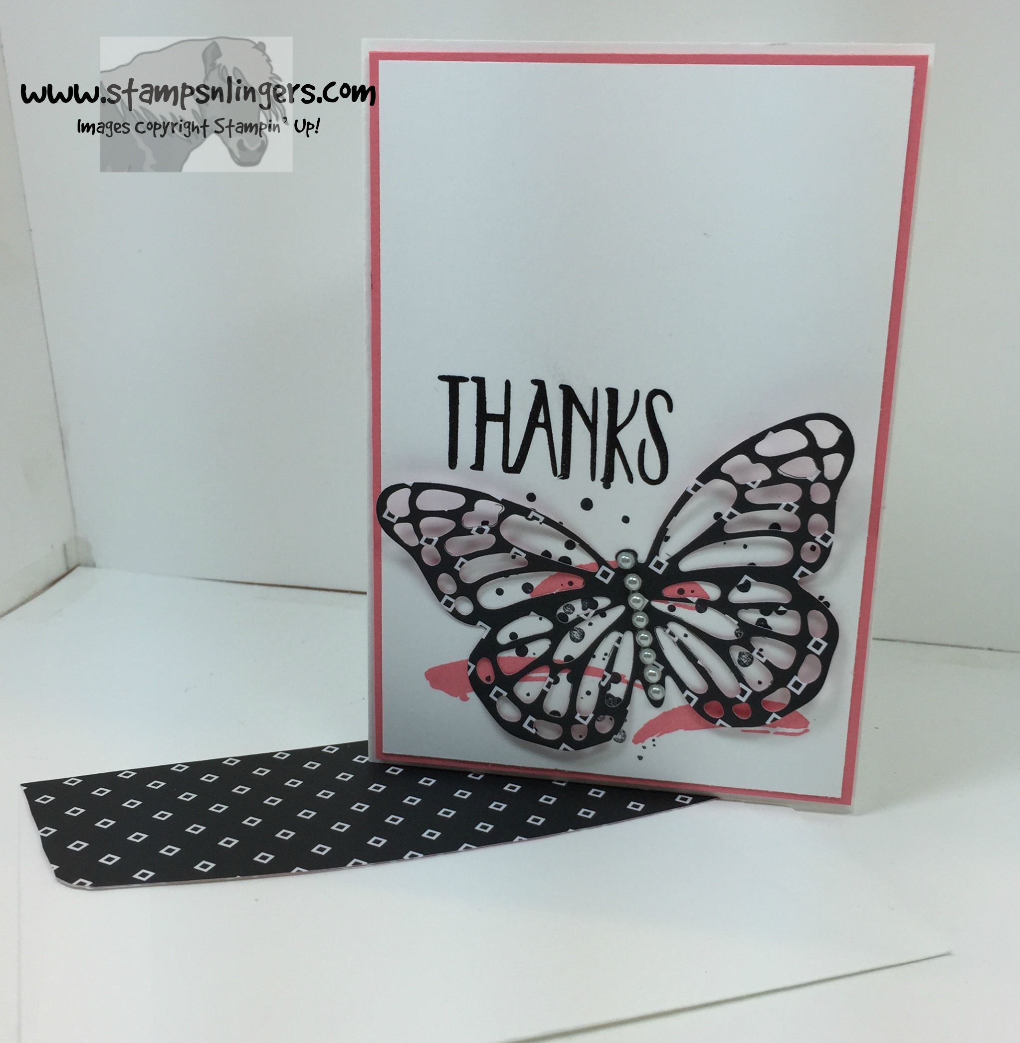 2016 2018 in color butterflies 2 stamps n lingers - Color Butterfly 2
