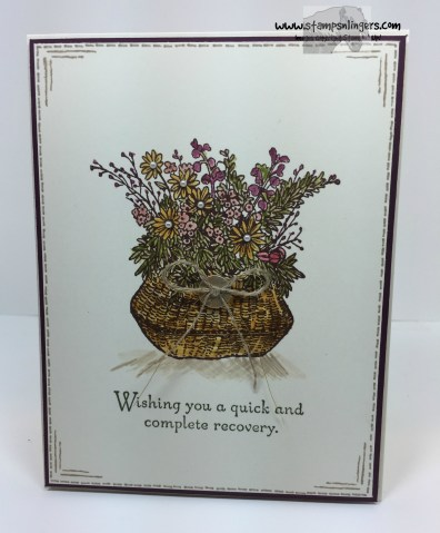 Basket For You Get Well 8 - Stamps-N-Lingers
