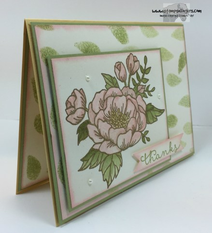 Bloomin' Love Thanks 4 - Stamps-N-Lingers