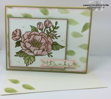 Bloomin' Love Thanks 7 - Stamps-N-Lingers