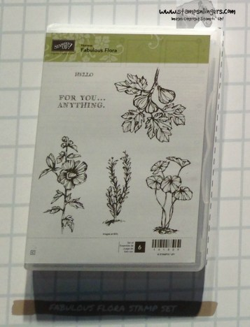 Fabulous Flora Host set - Stamps-N-Lingers