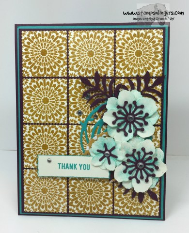 Moroccan Botanicals Thank You 1 - Stamps-N-Lingers