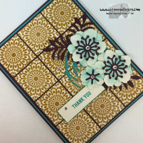 Moroccan Botanicals Thank You 4 - Stamps-N-Lingers