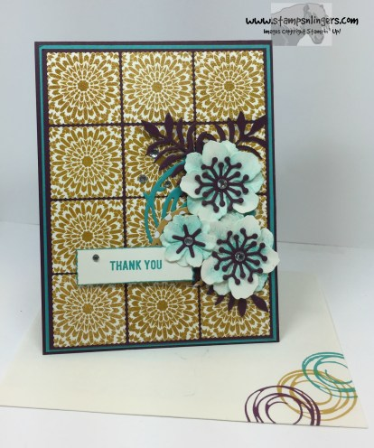 Moroccan Botanicals Thank You 6 - Stamps-N-Lingers