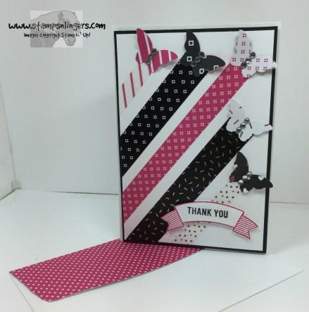 Pop of Pink Butterflies 7 - Stamps-N-Lingers