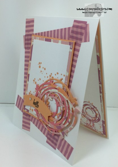 Swirly Bird Hello 3 - Stamps-N-Lingers