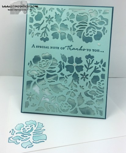 Floral Phrases Thanks 6 - Stamps-N-Lingers