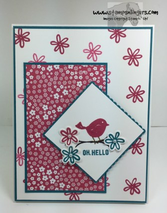 Oh, Hello Swirly Bird 1 - Stamps-N-Lingers