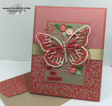Swirly Birds and Butterflies 7 - Stamps-N-Lingers