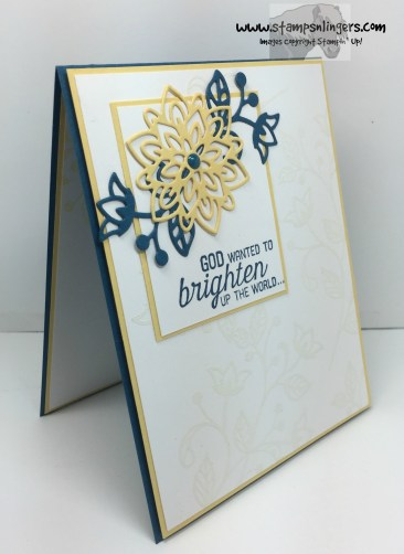 Flourishing Phrases Brighten the World 2 - Stamps-N-Lingers