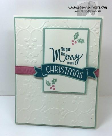 My Hero Christmas in July 1 - Stamps-N-Lingers