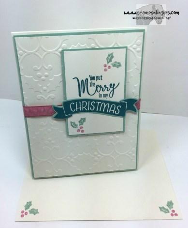 My Hero Christmas in July 6 - Stamps-N-Lingers
