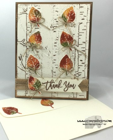 Falling Thoughtful Branches Autumn Leaves 7 - Stamps-N-Lingers